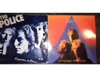 2 x vintage Police vinyl albums