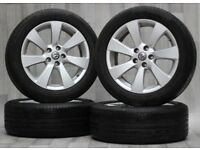 "Genuine 18"" Vauxhall Astra J GTC Alloys Wheels with Tyres 5x115"
