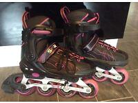 Girls SFR Inline Roller Skates, Adustable