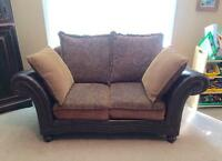 Loveseat & Chair And A Half