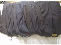 job lot 11 new unworn suit jackets