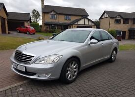 2007 Mercedes-Benz S Class 3.0 S320 CDI 7G-Tronic Diesel Silver Auto Automatic - Top Class Luxury