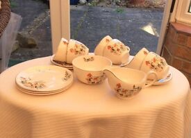 Pottery Collectibles. Meakin Fishermans Cove tea set.
