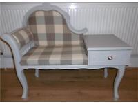 Telephone chair chaise lounge