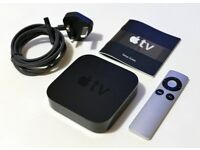 Apple TV (3rd generation) in as new condition.