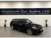 BMW 5 SERIES 520D M SPORT TOURING (black) 2008