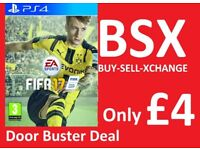 Fifa 17 on PS4 Only £4 Now Thats a BSX Door Buster Deal Only £4 Cyber Week Sale