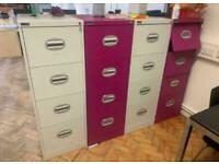 4 Filing cabinets £30 each or all for 100!