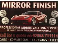 Mobile valeting
