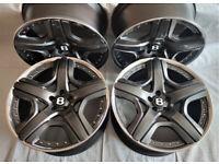 Original 21'' BENTLEY Continental GT Mulliner Alloy wheels, BBS