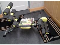 WONDER CORE II - Unisex Total Body Exercise Gym/Ab Toning with built in Twisting Seat and Rower.