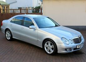 2007 Mercedes E320 CDi Diesel Avantgarde, Iridium Silver, Only 61565 Miles, One Owner, Massive Spec.