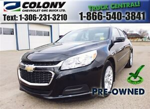 2015 Chevrolet Malibu LT 1LT, Rear Vision Camera, Sunroof, PST P