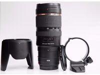 Canon 70-200 f2.8 Tamron image stabilisation VC