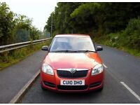 Skoda Fabia Year 1010. Miles 33000. Automatic. Full Service History. 6 Mouths Skoda Warranty .