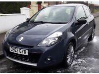 Renault Clio - low milage, excellent condition.