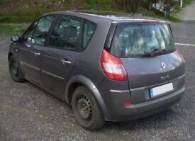 Renault scenic diesel 08 FSH MOT till April 19