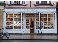 Full time sales assistant required for specialist luxury gift shop