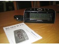 Roberts Chronoplus 2 FM/MW dual alarm clock radio