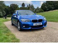 BMW 1 SERIES 120i M Sport Hatchback, 2015, Manual, FSH, 1 year MOT - LOTS OF EXTRAS