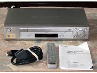 Sony VHS Video Recorder