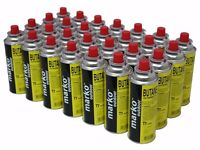 28 BUTANE GAS BOTTLES CANISTER CAMPING HEATER COOKER BBQ COOKING STOVE GRILL NEW - Collection Only