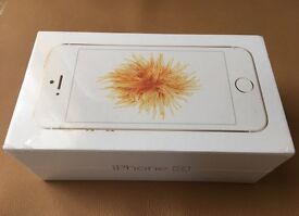 Brand new iPhone SE Gold 16GB EE 12 months warranty Apple A1723
