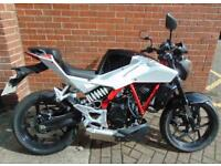 Not Yamaha/ Honda / Suzuki/Hyosung GD N 250 cc /mint condition, /no damage mint /hence price cat d