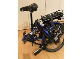 eLife folding electric bicycle