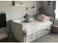 Ikea Hemnes day bed two mattresses read description