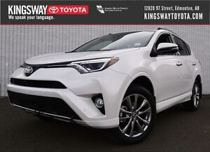 2017 Toyota RAV4 AWD Limited - Platinum Package