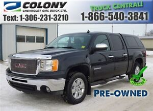 2010 GMC Sierra 1500 5'8 Box, SLE Crew Cab, Air/Cruise PST PAID