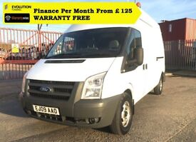 Ford Transit 2.4 350 LWB High Roof, Direct From National Company, AIR CON, FSH, 1YR MOT , 96K Miles