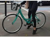 "26"" tiffany blue Apollo city bicycle"