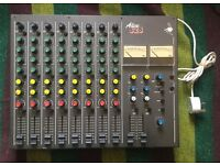 Alice Stancoil 828 Mixing Desk (DJ Mixer, 8x Belclare transformers, stereo limiters)