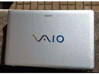 SONY VAIO NWseries 15.5 laptop. Intel® 2.20GHz CPU, 4GB RAM, 500GB HDD, HDMI, WiFi, DVD-RW. bargain!