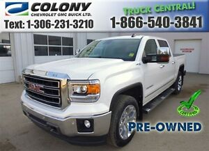 2015 GMC Sierra 1500 5.8 Box, SLT Crew Cab, Navigation, PST PAID