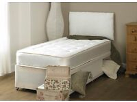 BRAND NEW-Single Divan Bed with Luxury Memory Foam Ortho Mattress-Double/Kingsize available