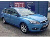 2009 (59 reg) Ford Focus 1.6 TDCi DPF Zetec 5dr Estate, AA COVER & AU WARRANTY INCLUDED, £1,995 ono