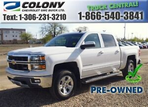 2015 Chevrolet Silverado 1500 5'8 Box, 2LT Crew Cab, Heated Seat