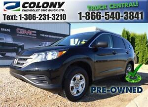 2012 Honda CR-V LX AWD, Heated Seats, Rear Vision Cam, PST PAID