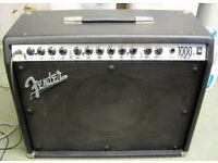 Fender USA Roc Pro 1000 Amp and Strat Guitar