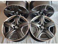 Original 21'' BENTLEY Continental GT Mulliner Alloy wheels, BBS