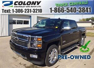 2015 Chevrolet Silverado 1500, High Country, DVD, NAV, Sunroof