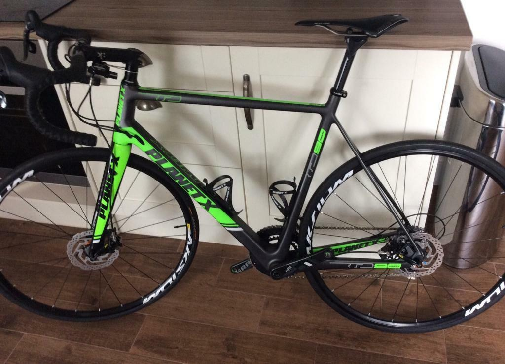 Planet X RT90 Full Carbon Disc Road Bike 58cm L/XL Frame   in ...