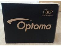 Optoma DS211 DLP Projector with MAC adaptor, less then 10% bulb life used