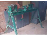 Wood Turning Lathe Constructed by F W Nobbs, Maiden Newton and therefore may suit Collector