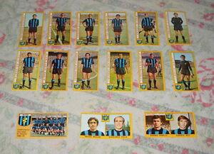 LOTTO-FIGURINE-CALCIO-PANINI-1969-70-INTER-15-FIGURINE-TUTTE-DIVERSE-RECUPERO