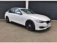 2013 BMW 320D EFFICIENTDYNAMICS M PERFORMANCE KIT MINERAL PEARL WHITE
