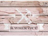 KWSERVICE. HANDYMAN, DECORATING, CLEANING, DIY, GARDENING